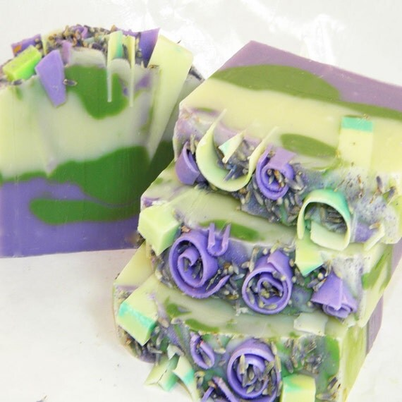 Lavender Herb Handmade Artisan Soap by SV.Soaps