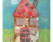 Paisley Cottage Print