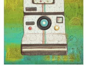 Vintage Polaroid Print