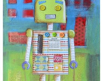 Candy Bot Print