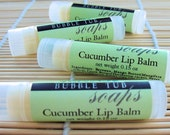 Cucumber Lip Balm - all natural flavor