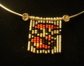 Mario Bros. Beaded Pixel Sprite Necklace - Free Shipping