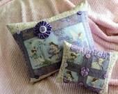 Lavender Fairies Pillows Set of Two