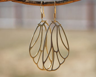 On The Wings of a Butterfly, 14K Gold Wires