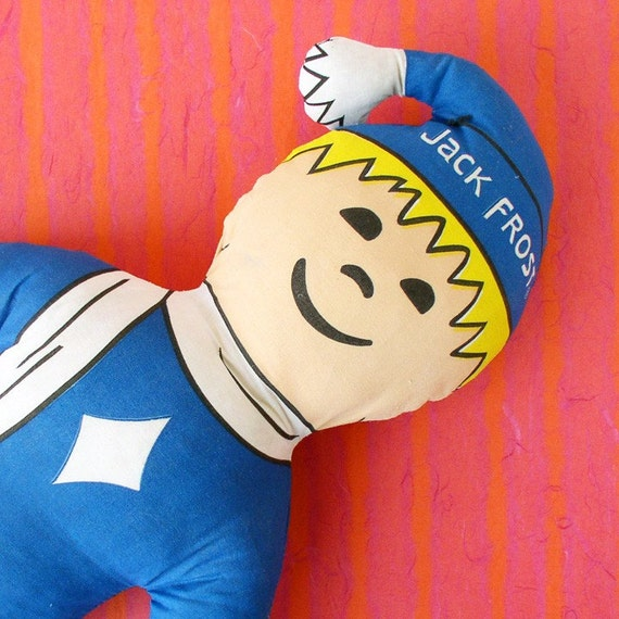 ON CLEARANCE - Jack Frost plush toy