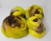 CLEARANCE--- 4.0oz Merino Blends Fiber Sample All same dye lot