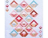 A TISKET, A Tasket Quilt Patttern - B J Q 114 --- Printable Download Pdf E-Pattern Diy Free Shipping Digital Pattern Basket White Pastel