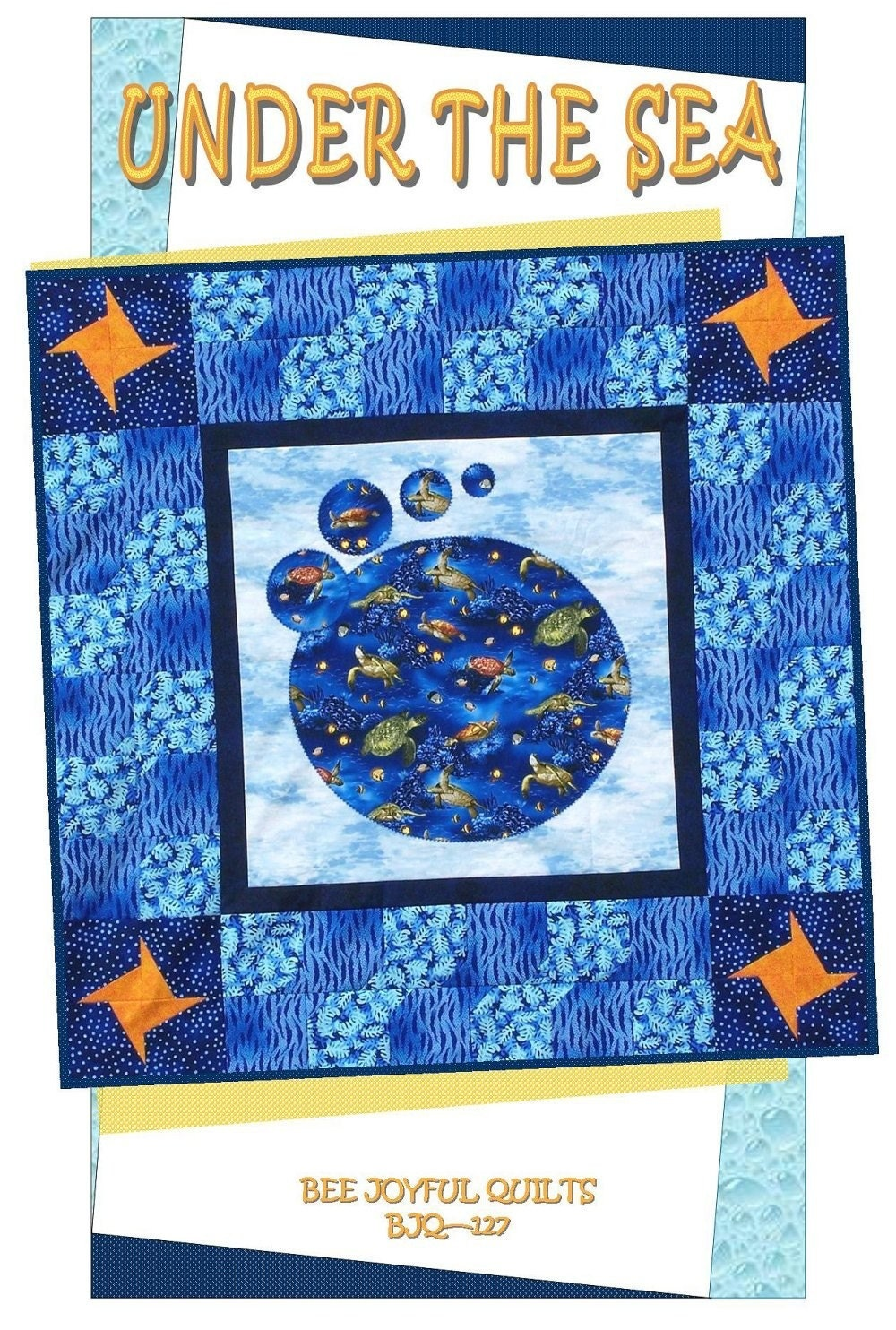 Under The Sea Quilt Pattern B J Q 127 By Beejoyfulquilts