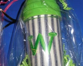 Monogrammed Sippy Cup personalized 10 oz.  with Insert