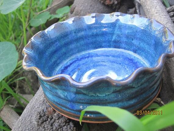 Turquoise Stoneware Baking Dish