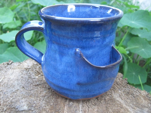 Tea Bag Mug in Turquoise