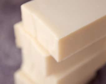 Just Soap Unscented All Natural Castile Coconut Milk  Handmade Soap