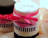Coral Coconut Whipped Body Frosting enriched with Sweet Almond Oil and Apricot Kernel Oil