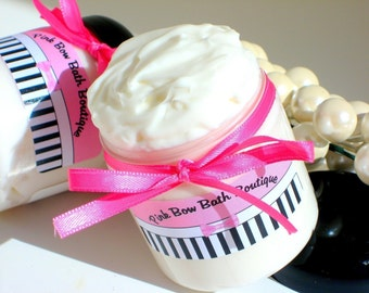 Cupcake Beautiful Body Butter enriched with Shea Butter, Cocoa Butter, and Japanese Green Tea Extract