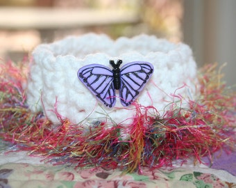 Calvin Collar - Purple Butterfly
