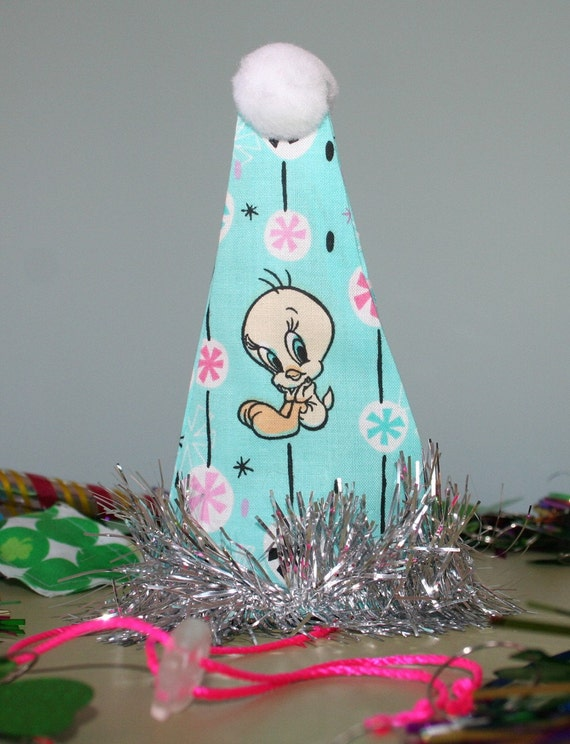 Party Hat for Cats - Tweety Bird