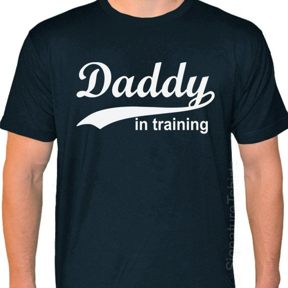 DADDY in training Father's Day Made in USA T-shirt tshirt Funny Christmas Gift Dad to be shirt