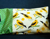 Sweet Birds -- Child Size or Travel Pillow Cover\/Pillowcase