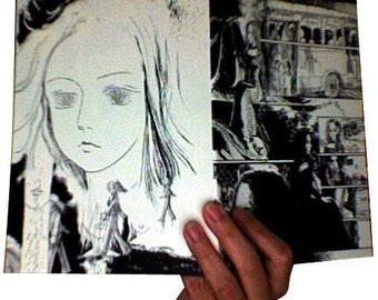 Dream - Space (Blank Notebook - Sketchbook - Comic Book)