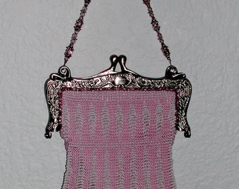 The Fan-Tan Vintage Beaded Purse Pattern