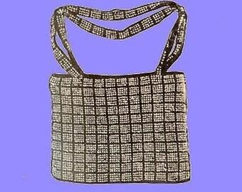 1924 Beaded Envelope Bag Crochet Pattern