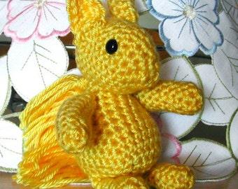 Toy Squirrel Pattern, 1947 Crochet pattern