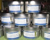 Three Soy Candles in 6oz Tins - Choose Your Own Scents