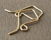Handmade Earwires, 14k Gold Filled Little Kites, Signature Series, Earring Components - Made in USA