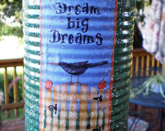 Tin - Decorative - Dream Big Dreams - Gift Container