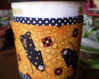 Coffee Cup Cozy - Witches - for Halloween -