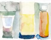vivid shower bottles
