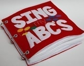 Sing My ABCs - ePattern for a Toddler's Quiet Book