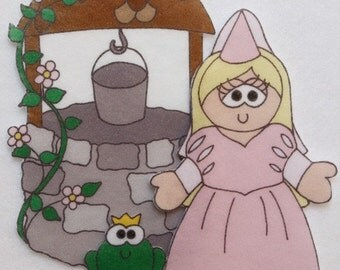 Happily Ever After - ePattern for Print and Play Felt Figures