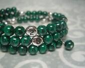 Malachite Nursing Bracelet