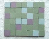 42 Unglazed Porcelain Ceramic Mosaic Tiles