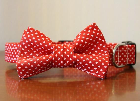Bowtie Dog Collar - Puppy Love Bow Tie