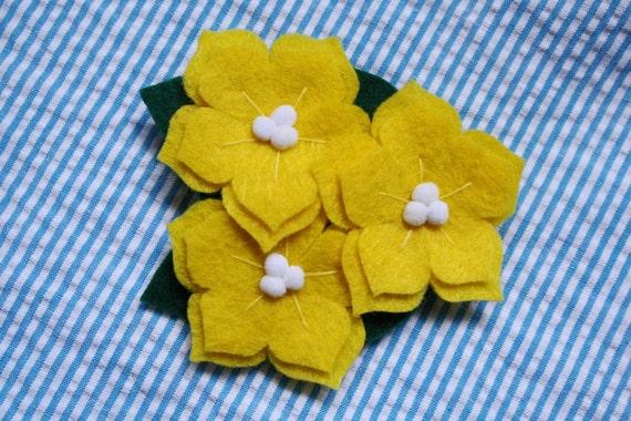 Dog Collar Flower - Yellow Jasmine