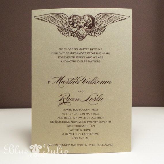 steam wedding invitations 28 images steunk wedding invitations