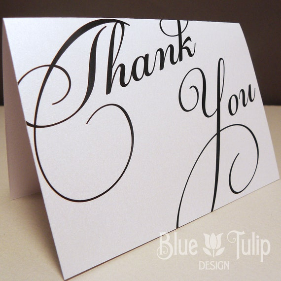 Broadway Thank You Card