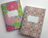 Dahlia Medallion Notebook Set