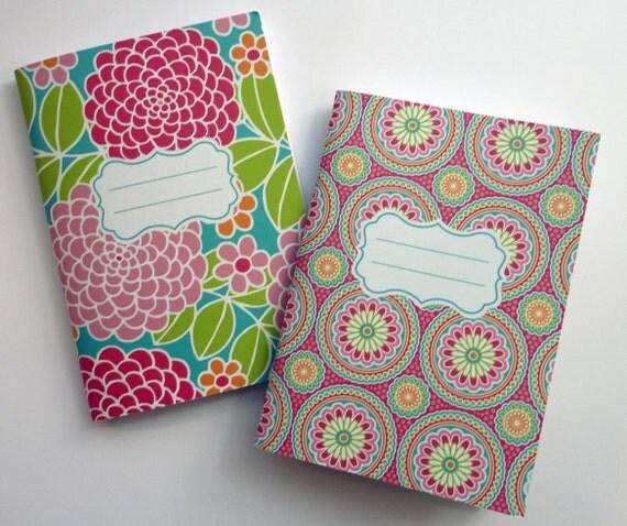 Dahlia Medallion Notebook Set