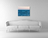 Large Ocean Photograph on Canvas - 24x30 - Deep - Fine Art Photography