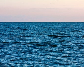 Oversized Large Photograph, Deep (Blue Ocean), Up to 40x60 Fine Art Photography Print by Tricia McKellar