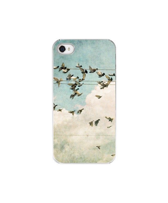 iPhone Case - Bird Photography - Custom iPhone 4 4S cell phone case - Escape