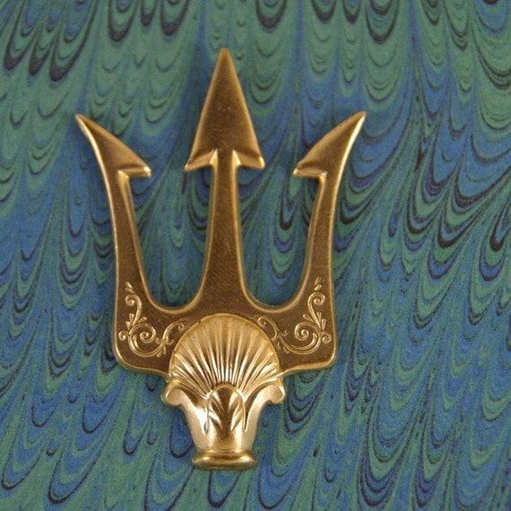 sale fantasyawesome brass trident stamping