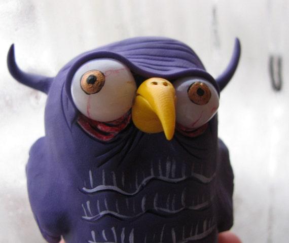 LittLe purple Bird
