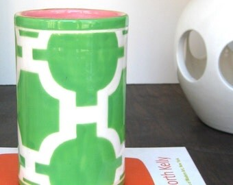 Number 5 Cylinder in Hampton Links Kelly Color