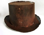 Steel Top Hat - Metal Art OOAK Sculpture - jimmorey