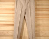 Vintage Wool Pants Size S to M Waist 34 Hips 40