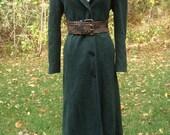 Vintage Designer Wool Coat